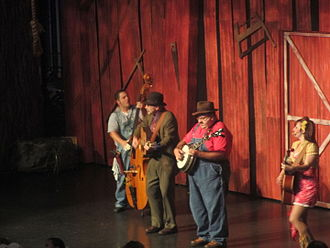 Hatfield–McCoy feud - Hatfield–McCoy production (July 2012)