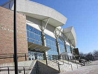 Knapp Center building in Iowa, United States