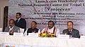 "The Minister of State for Tribal Affairs, Shri Jaswantsinh Sumanbhai Bhabhor at the launch cum workshop of the National Resource Centre for Tribal livelihood ""Vanjeevan"", at Bhubaneswar, Odisha.jpg"