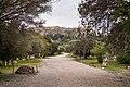 The Panathenaic Way at the Ancient Agora of Athens on March 23, 2021.jpg