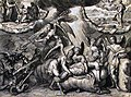 The Phillip Medhurst Picture Torah 620. The death of Moses. Deuteronomy cap 34 v 6. De Hooghe.jpg