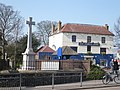 The Powell Arms Birchington and the war memorial - geograph.org.uk - 1215774.jpg