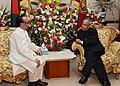 The President, Shri Pranab Mukherjee meeting the President of Bangladesh, Mr. Md. Zillur Rahman, at Bangabhavan, in Dhaka, Bangladesh on March 04, 2013.jpg