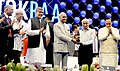 The President, Shri Ram Nath Kovind presenting the Santokbaa Humanitarian Award to the Former Chairman of ISRO, Dr. Kiran Kumar, at a function, in Surat, Gujarat.JPG