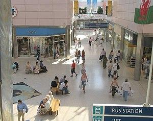 Quadrant Shopping Centre - Inside the Quadrant Shopping Centre
