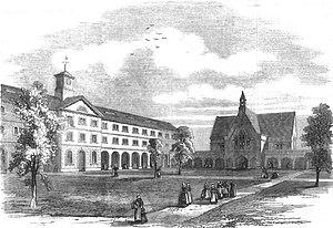 Fulham Refuge - Image: The Refuge for female convicts at Fulham 1858