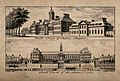 The Royal Hospital, Chelsea; views of the north and south fa Wellcome V0012918.jpg