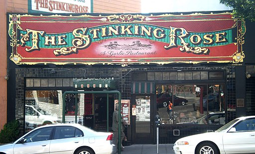 The Stinking Rose SF front