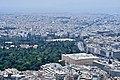 The Temple of Olympian Zeus and the Hellenic Parliament from Mount Lycabettus on July 6, 2019.jpg