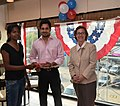The U.S Consulate Chennai celebrated its two-year anniversary on Facebook with U.S. Consul General Jennifer McIntyre, actors Bharath Srinivasan and Jeyam Ravi21.jpg