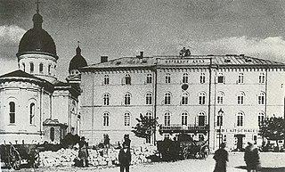 Ukrainian Discourse Theatre First Ukrainian professional theater (1864 - 1924)