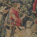 The Unicorn is Attacked (from the Unicorn Tapestries) MET DP101092.jpg