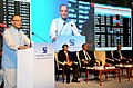 The Union Minister for Finance, Corporate Affairs and Information & Broadcasting, Shri Arun Jaitley addressing at a function to mark the merger of Forward Markets Commission with Securities & Exchange Board of India (SEBI).jpg