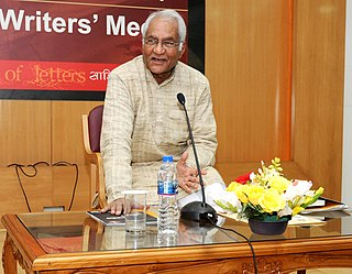 Vishwanath Prasad Tiwari Indian poet, critic