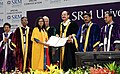 The Vice President, Shri M. Venkaiah Naidu giving away degrees to the Students at the Special Convocation 2017 of SRM University, in Chennai (3).jpg