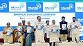 The Vice President, Shri M. Venkaiah Naidu releasing the Compendium of Achievements of Mahila Dakshata Samiti in 25 years, at it's Silver Jubilee Celebrations, in Hyderabad.jpg