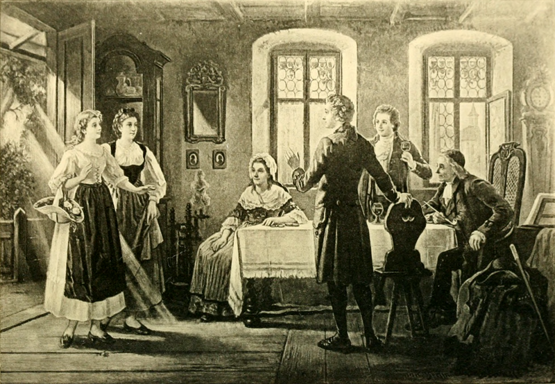 File:The Young Goethe at Sesenheim (The Works of J. W. von Goethe, Volume 13).png
