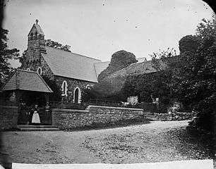 The church, Pentrefoelas