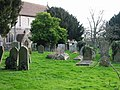 The churchyard at St Mary's, Eastry - geograph.org.uk - 677950.jpg