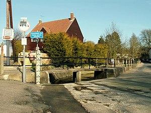 Steeple Bumpstead - Image: The footbridge on the corner of Church Street geograph.org.uk 1209869