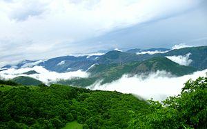 Arasbaran - Mist-clad mountains
