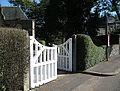 The open gate - geograph.org.uk - 1484751.jpg