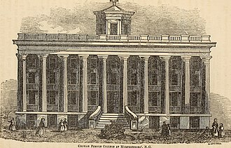 Chowan University - Chowan Female College, 1854