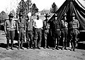 The staff of commissioned and non-commissioned officers on duty at the CCC (Civilian Conservation Corps) camp in Little (8b3e2f64729941078fee332a141d1579).jpg