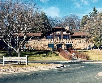 Theodore Wirth Park - Golf lodge at Theodore Wirth Park