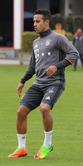Thiago Alcântara - Thiago training for Bayern Munich in 2017