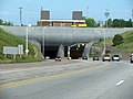 Thorold Tunnel under Welland Canal in Thorold, Ontario.jpg