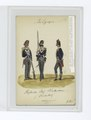 Three soldiers in uniform - Blue jackets with white and gold accents, grey pants (NYPL b14896507-85503).tiff