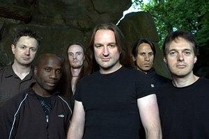 Threshold (band) - Threshold 2009 L-R: Richard West, Johanne James, Pete Morten, Damian Wilson, Steve Anderson, Karl Groom