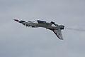 Thunderbirds Lockheed-Martin F-16C Fighting Falcon Number 5 Solo Roll 06 SNF 16April2010 (14607419786).jpg