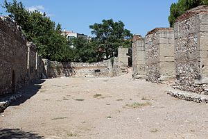 Akhisar - ruins of the Thyatira church.