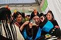 Tibetan Female Headdress in Kham Derge Mesho 10.jpg