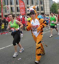 Tigger at the London Marathon 2011 (5630688832).jpg