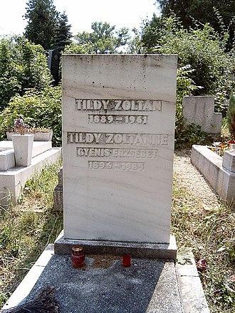 Zoltán Tildy - Grave of Zoltán Tildy and his wife, Erzsébet Gyenis in Budapest.