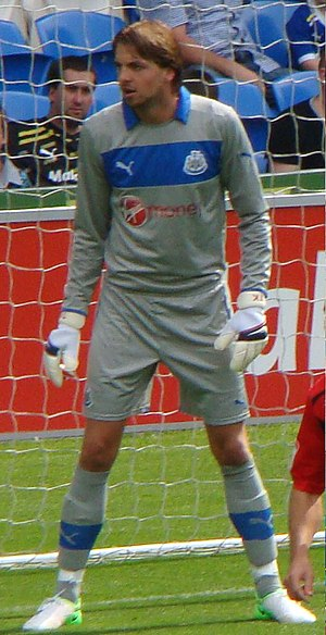 Tim Krul - Krul playing for Newcastle United in 2012