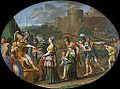 Timoclée et Alexandre, Domenichino (Louvre INV 796) 03.jpg