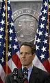 Timothy Geithner speaking at the United States Treasury.jpg