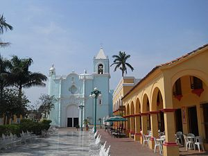 "Volví a Nacer - Tlacotalpan, Veracruz (pictured) where the music video for ""Volví a Nacer"" was filmed"