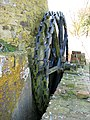 Toft Monks drainage mill - remains of the scoop wheel - geograph.org.uk - 1803574.jpg