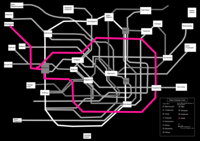 Tokyo subway map black fixed grey oedo.PNG