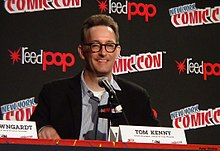 Tom Kenny in 2014 at New York Comic Con - Photo by Peter Dzubay.jpg
