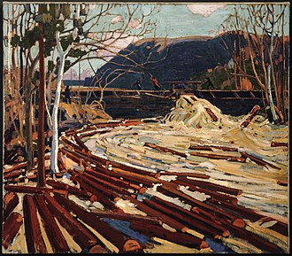 Art Gallery of Guelph - Image: Tom Thomson, The Drive, 1916 1917