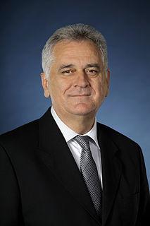 Tomislav Nikolić former president of Serbia