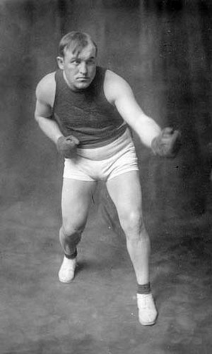 1907 in sports - World heavyweight boxing champion Tommy Burns