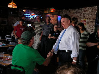 Tommy Thompson 2008 presidential campaign - Thompson campaigns in Iowa in July 2007.