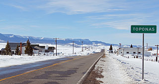 Toponas, Colorado Unincorporated community in Colorado, United States